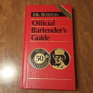 50TH ANNIV. MR. BOSTON  OFFICIAL BARTENDER'S GUIDE